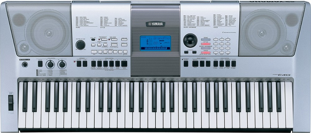 yamaha 手提电子琴:标准及入门系列 -- psr-e413